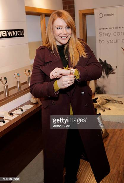 Actress Bryce Dallas Howard attends Kari Feinstein's Style Lounge on January 23 2016 in Park City Utah