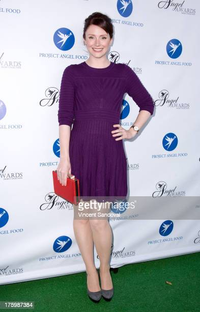 Actress Bryce Dallas Howard attends Project Angel Food's annual summer soiree Angel Awards 2013 honoring Jane Lynch at Project Angel Food on August...