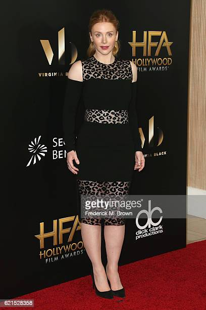 Actress Bryce Dallas Howard attends the 20th Annual Hollywood Film Awards on November 6 2016 in Beverly Hills California