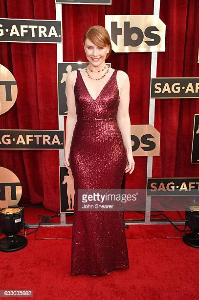 Actress Bryce Dallas Howard attends The 23rd Annual Screen Actors Guild Awards at The Shrine Auditorium on January 29 2017 in Los Angeles California
