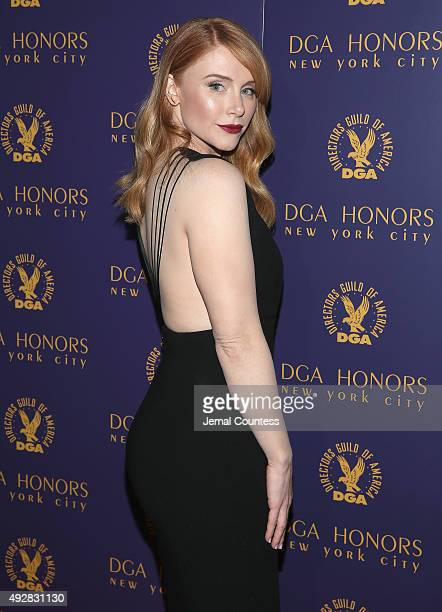 Actress Bryce Dallas Howard attends the DGA Honors 2015 Gala on October 15 2015 in New York City