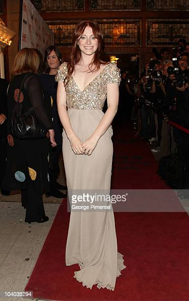 """Actress Bryce Dallas Howard attends the """"Hereafter"""" Premiere held at The Elgin during the 35th 2010 Toronto International Film Festival on September..."""