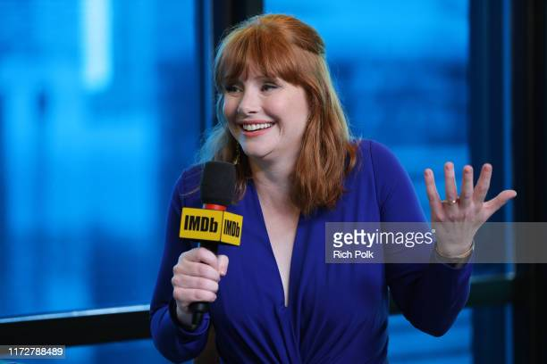 Actress Bryce Dallas Howard attends The IMDb Studio Presented By Intuit QuickBooks at Toronto 2019 at Bisha Hotel Residences on September 06 2019 in...