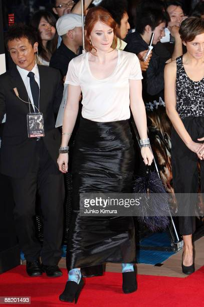 Actress Bryce Dallas Howard attends the Japan Premiere of 'Terminator Salvation' at Lalaport Toyosu on June 4 2009 in Tokyo Japan The film will open...