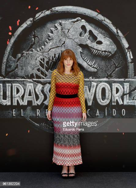 Actress Bryce Dallas Howard attends the 'Jurassic World Fallen Kingdom' photocall at Villamagna hotel on May 22 2018 in Madrid Spain