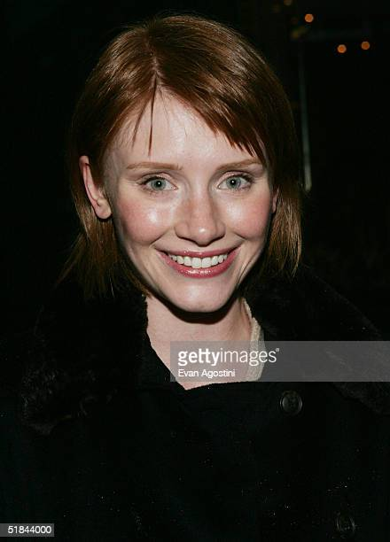 "Actress Bryce Dallas Howard attends ""The Life Aquatic With Steve Zissou"" premiere after party at Roseland Ballroom December 9, 2004 in New York City."
