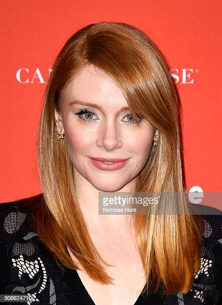 Actress Bryce Dallas Howard attends the Southside With You Premiere during the 2016 Sundance Film Festival at Eccles Center Theatre on January 24...