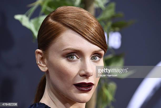Actress Bryce Dallas Howard attends the Universal Pictures' 'Jurassic World' premiere at Dolby Theatre on June 9 2015 in Hollywood California
