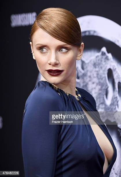 Actress Bryce Dallas Howard attends the Universal Pictures' Jurassic World premiere at Dolby Theatre on June 9 2015 in Hollywood California