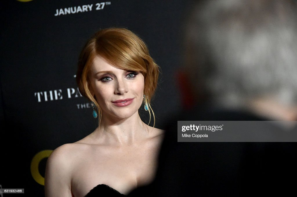 Actress Bryce Dallas Howard attends The World Premiere of 'Gold' hosted by TWC - Dimension with Popular Mechanics, The Palm Court & Wild Turkey Bourbon at AMC Loews Lincoln Square 13 theater on January 17, 2017 in New York City.