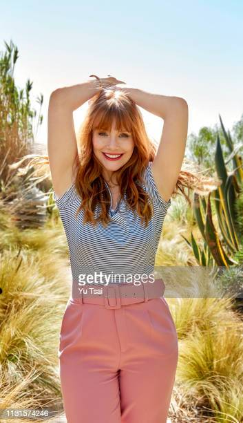 Actress Bryce Dallas Howard is photographed for Good Housekeeping Magazine on February 12, 2018 in Malibu, California. PUBLISHED IMAGE.
