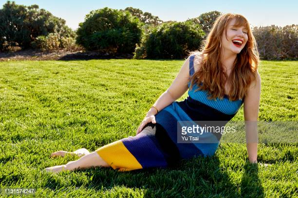 Actress Bryce Dallas Howard is photographed for Good Housekeeping Magazine on February 12 2018 in Malibu California PUBLISHED IMAGE