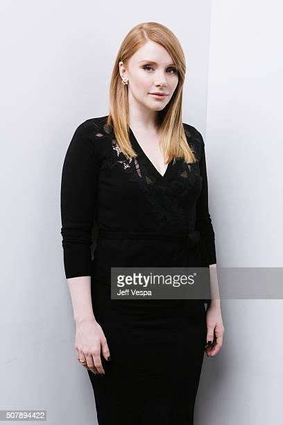 Actress Bryce Dallas Howard of 'Solemates' poses for a portrait at the 2016 Sundance Film Festival on January 24 2016 in Park City Utah