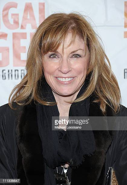 Actress Brynn Thayer attends the opening night of Bengal Tiger At The Baghdad Zoo at the Richard Rodgers Theatre on March 31 2011 in New York City