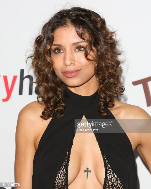 Actress Brytni Sarpy attends OK Magazine's annual preOscar event at Nightingale Plaza on February 22 2017 in Los Angeles California