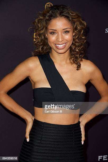 Actress Brytni Sarpy attends the Television Academy's Performers Peer Group Celebration at Montage Beverly Hills on August 22 2016 in Beverly Hills...