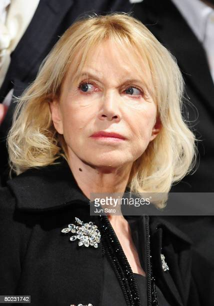 Actress Bulle Ogier attends the opening ceremony of the France Film Festival 2008 at Roppongi Hills on March 13 2008 in Tokyo Japan