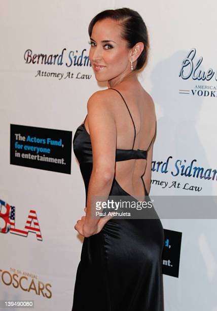 Actress Burgandi Phoenix attends the 5th Annual Toscars at SupperClub Los Angeles on February 21 2012 in Los Angeles California
