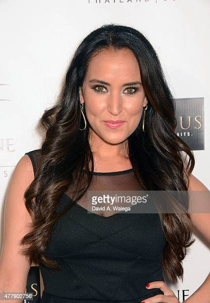 Actress Burgandi Phoenix attends the 'Pernicious' premiere at Arena Cinema Hollywood on June 19 2015 in Hollywood California
