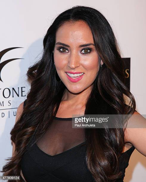 Actress Burgandi Phoenix attends the premiere PERNICIOUS at Arena Cinema Hollywood on June 19 2015 in Hollywood California