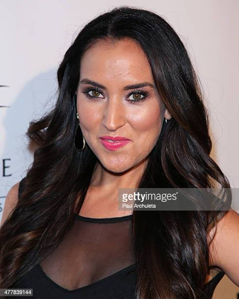 Actress Burgandi Phoenix attends the premiere 'PERNICIOUS' at Arena Cinema Hollywood on June 19 2015 in Hollywood California