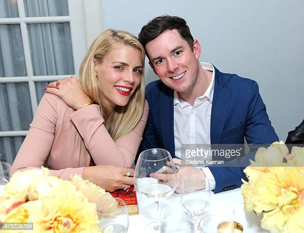 Actress Busy Philipps and Art of Elysium's Alex Martinetti attend a dinner to celebrate Glamour's June Success Issue hosted by Glamour EditorinChief...