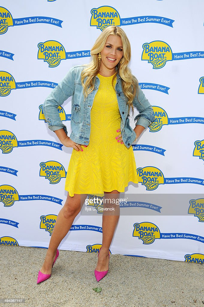 Actress Busy Philipps and Banana Boat® sunscreen are teaming up to launch the Best Summer Ever Sweepstakes, celebrating family fun in the sun by sharing summer tips, tools and prizes on May 29, 2014 in New York City.Visit www.facebook.com/BananaBoatBrand and spin to win on the Wheel of Fun