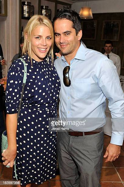 Actress Busy Philipps and Dar Rollins attend the ICM Partners PreEmmy Brunch at Fig Olive Melrose Place on September 22 2012 in West Hollywood...