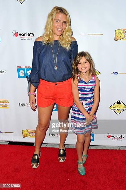 Actress Busy Philipps and daughter Birdie Leigh Silverstein attend the 7th Annual Milk Bookies' Story Time Celebration at California Market Center on...