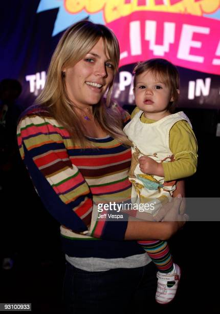 ACCESS*** Actress Busy Philipps and daughter Birdie Leigh Silverstein attend the first ever Yo Gabba Gabba There's A Party In My City live...