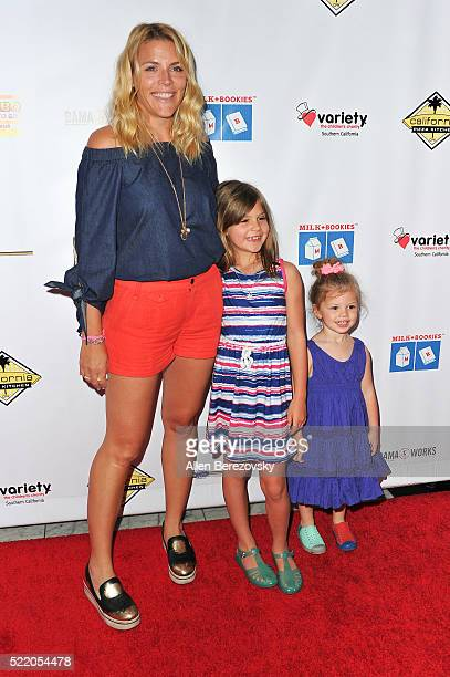 Actress Busy Philipps and daughters Birdie Leigh Silverstein and Cricket Pearl Silverstein attend the 7th Annual Milk Bookies' Story Time Celebration...