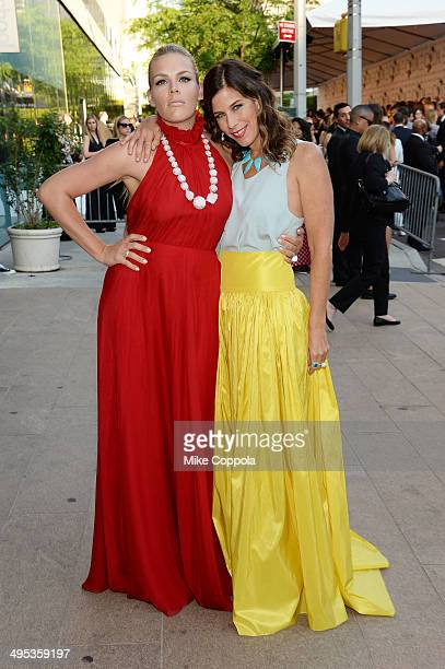 Actress Busy Philipps and designer Irene Neuwirth attend the 2014 CFDA fashion awards at Alice Tully Hall Lincoln Center on June 2 2014 in New York...
