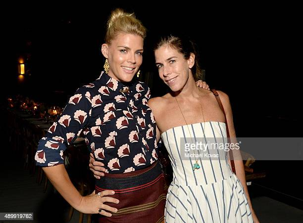 Actress Busy Philipps and jewelry designer Irene Neuwirth celebrate the launch of A Very Busy Fall on September 24 2015 in Los Angeles California