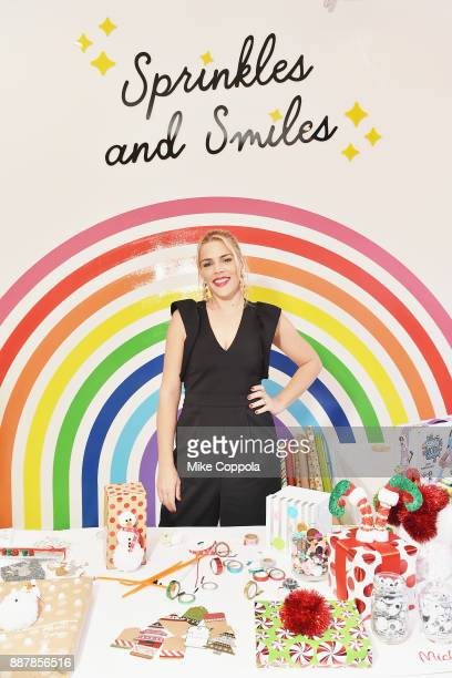 Actress Busy Philipps and Michaels host a celebration of the season's greatest DIY gifts at NYC's Flour Shop with an interactive master class on...