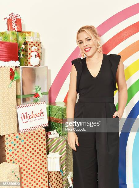 Actress Busy Philipps and Michaels host a celebration of the season's greatest DIY gifts at NYC's Flour Shop, with an interactive master class on...