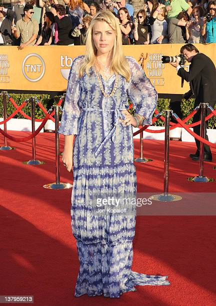 Actress Busy Philipps arrives at the 18th Annual Screen Actors Guild Awards held at The Shrine Auditorium on January 29, 2012 in Los Angeles,...