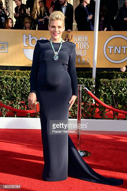 Actress Busy Philipps arrives at the 19th Annual Screen Actors Guild Awards held at The Shrine Auditorium on January 27 2013 in Los Angeles California