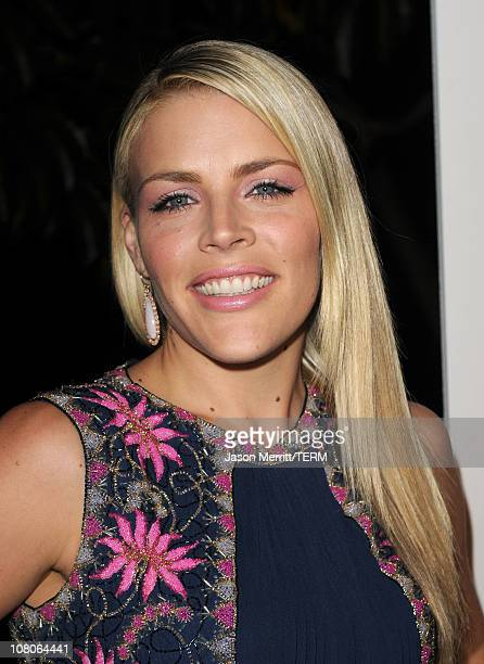 Actress Busy Philipps arrives at the 2011 Art Of Elysium Heaven Gala held at the California Science Center on January 15 2011 in Los Angeles...