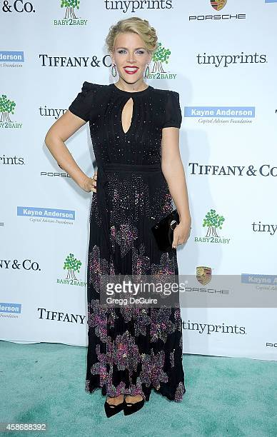 Actress Busy Philipps arrives at the 2014 Baby2Baby Gala presented by Tiffany Co honoring Kate Hudson at The Book Bindery on November 8 2014 in...