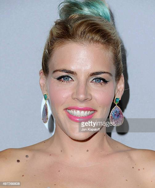 Actress Busy Philipps arrives at the 2015 Baby2Baby Gala at 3LABS on November 14 2015 in Culver City California