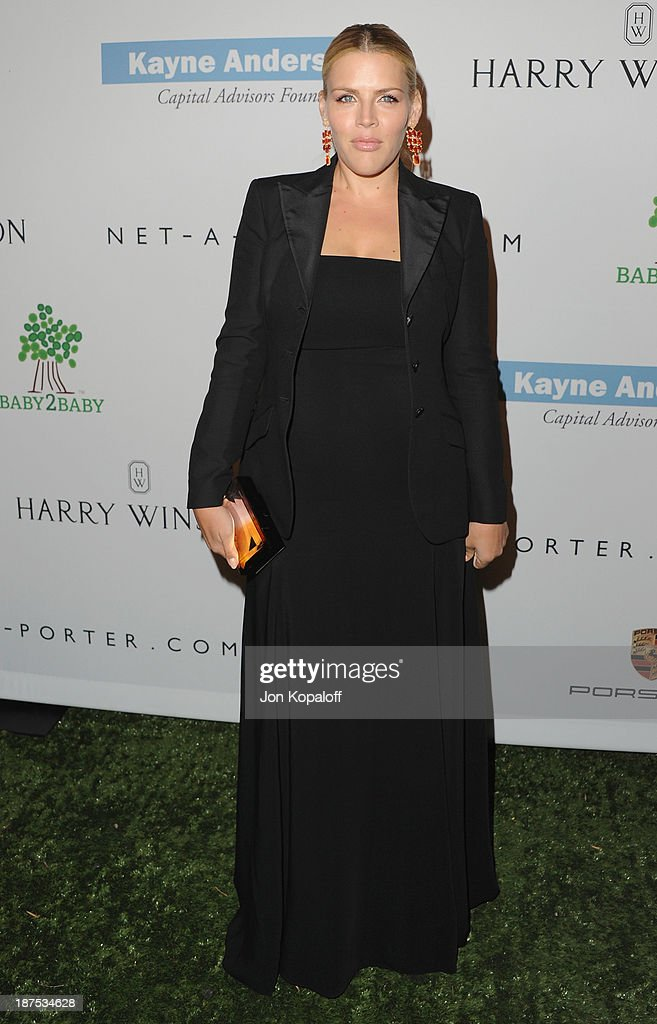 Actress Busy Philipps arrives at the 2nd Annual Baby2Baby Gala at The Book Bindery on November 9, 2013 in Culver City, California.