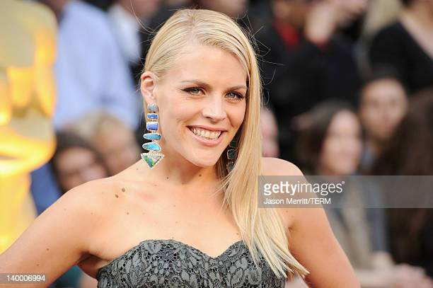 Actress Busy Philipps arrives at the 84th Annual Academy Awards held at the Hollywood Highland Center on February 26 2012 in Hollywood California