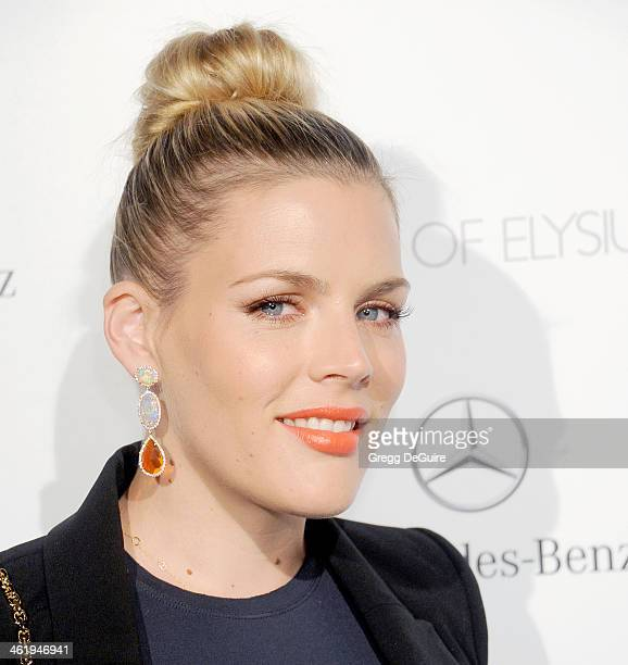 Actress Busy Philipps arrives at The Art of Elysium's 7th Annual HEAVEN Gala at the Guerin Pavilion at the Skirball Cultural Center on January 11...