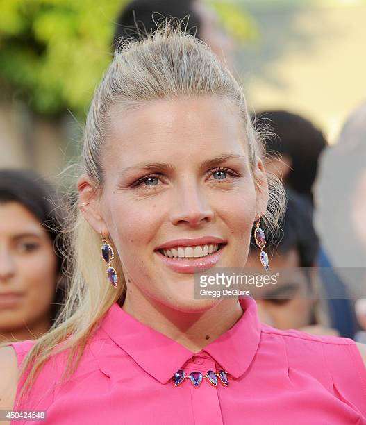 Actress Busy Philipps arrives at the Los Angeles premiere of 22 Jump Street at Regency Village Theatre on June 10 2014 in Westwood California