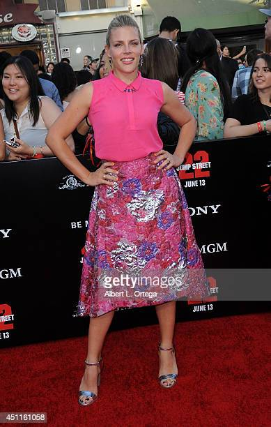 Actress Busy Philipps arrives for the Premiere Of Columbia Pictures' '22 Jump Street' held at Regency Village Theatre on June 10 2014 in Westwood...