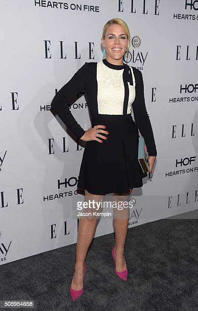 Actress Busy Philipps attends ELLE's 6th Annual Women In Television Dinner at Sunset Tower Hotel on January 20 2016 in West Hollywood California