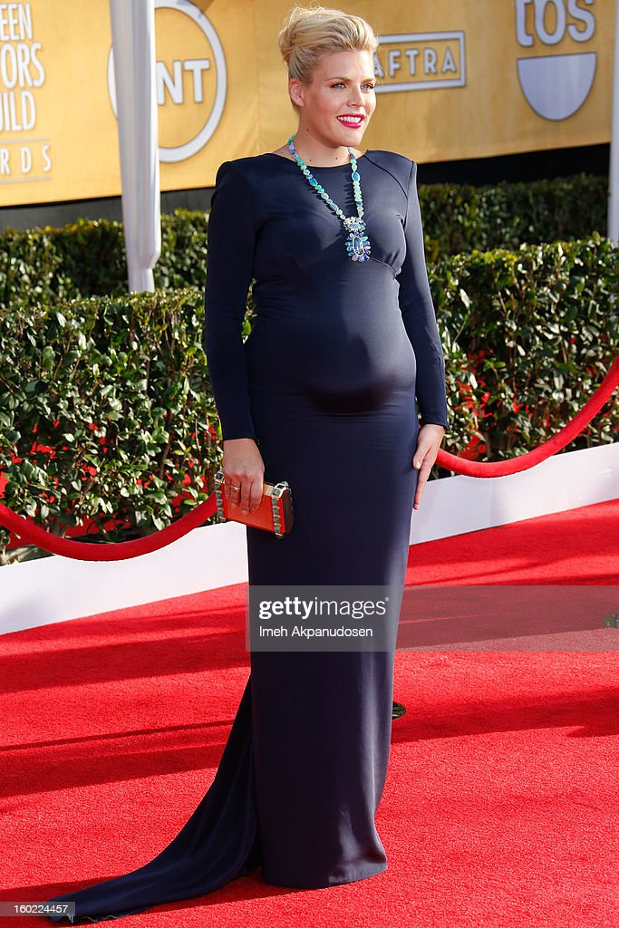 Actress Busy Philipps attends the 19th Annual Screen Actors Guild Awards at The Shrine Auditorium on January 27, 2013 in Los Angeles, California.