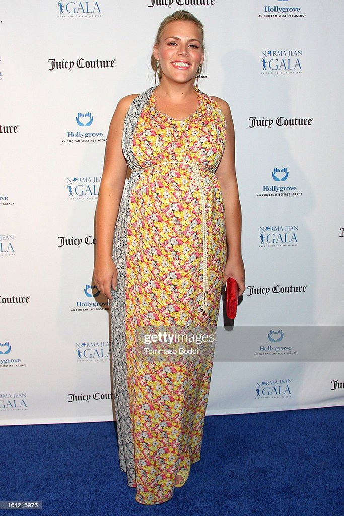 Actress Busy Philipps attends the 1st Annual Norma Jean Gala held at the TCL Chinese Theatre on March 20, 2013 in Hollywood, California.