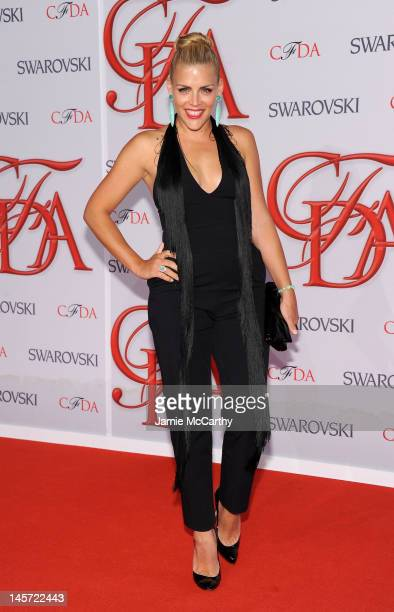 Actress Busy Philipps attends the 2012 CFDA Fashion Awards at Alice Tully Hall on June 4 2012 in New York City