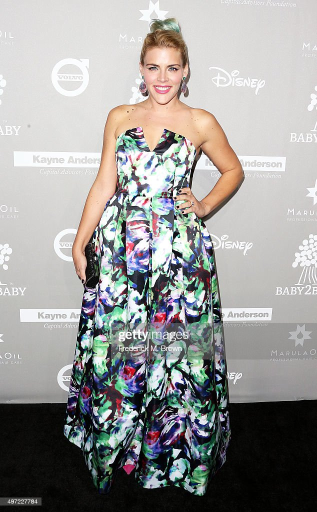 Actress Busy Philipps attends the 2015 Baby2Baby Gala at 3LABS on November 14, 2015 in Culver City, California.